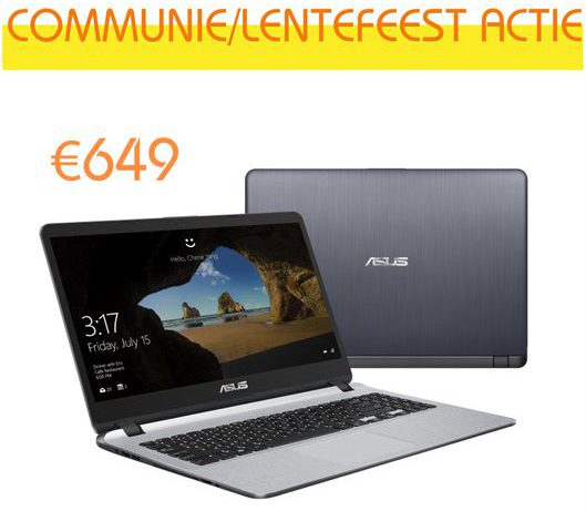 communie / lentefeest actie VIPC Computers 2019